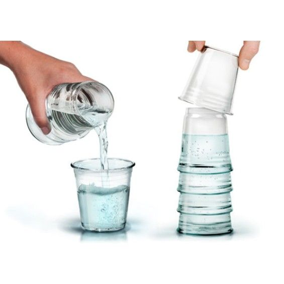 Fred & Friends H2EAU Carafe and Glass