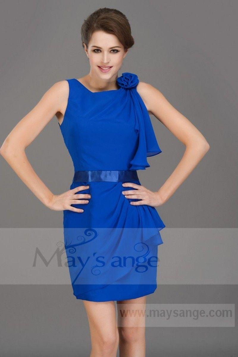 Fond de robe bleu roi