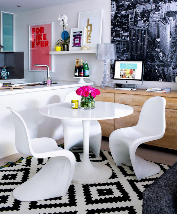 Ikea Dining Rooms: Ikea Docksta Table, Contemporary, Dining Room, Adore