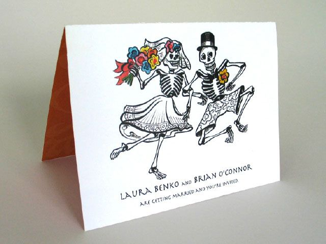 Charmant Day Of The Dead Wedding Ideas | Day Of The Dead Wedding Invitations Wedding  Invite Day