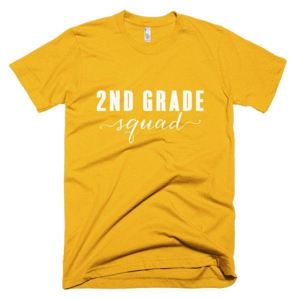 2nd Grade Squad- Unisex short sleeve t-shirt