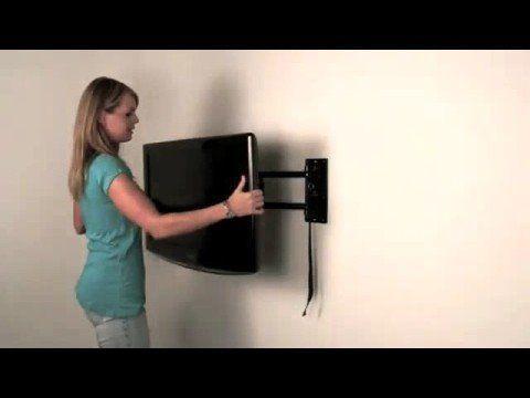 Moview Flat Screen Tv Wall Mount Bracket With Locking Feature Tvbracketideastvwallmount
