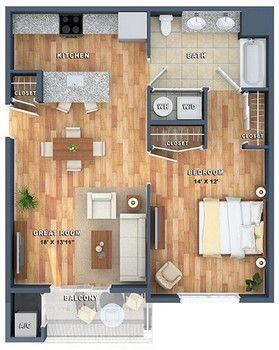 View Plans Cabin Floor Plans Garage Apartment Plans Small Apartment Design
