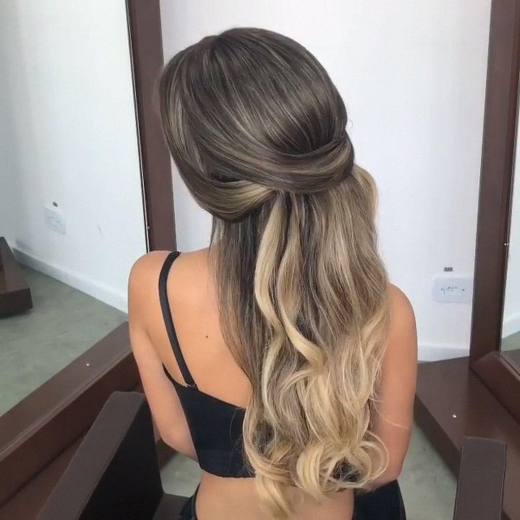 22 Peinados semirecogidos cabello corto