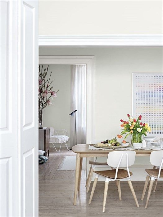 White disclosure walls and love note trim colour schemes exterior interior scheme ideas - British paints exterior decor ...