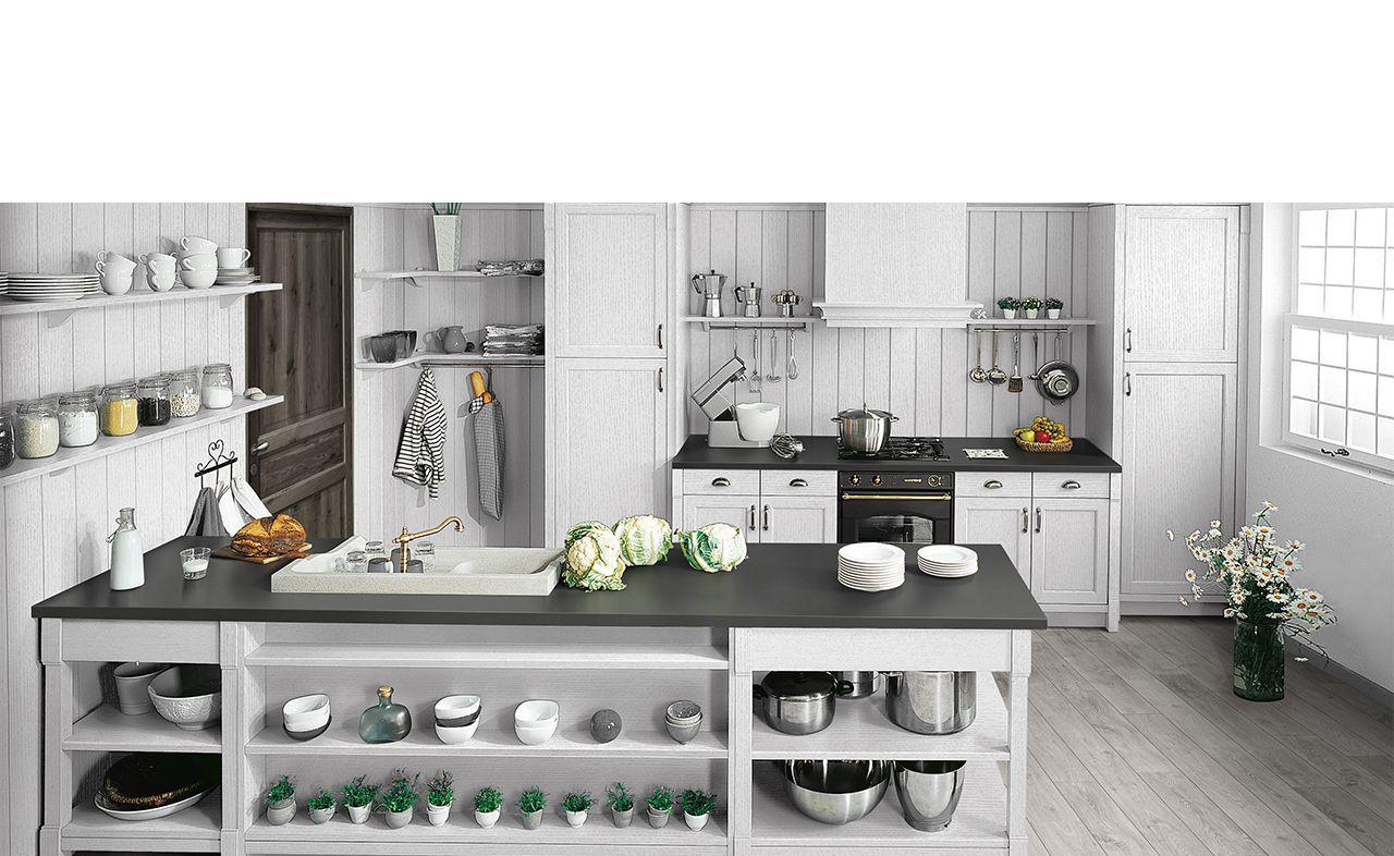 cuisine classic bois maryville d co la cuisine. Black Bedroom Furniture Sets. Home Design Ideas