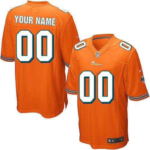 custom dolphins jersey