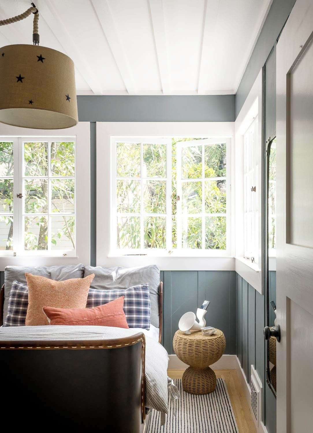 This Marin County Home Is Filled With Wallpaper Ideas