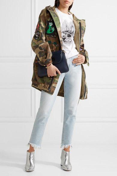 15d43bdd4527 Marc Jacobs - Rocket Metallic Leather Chelsea Boots - Silver - IT40 ...