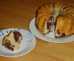 Schneller Marmorkuchen Saftig Und Fluffig Rezept Gugelhupfe