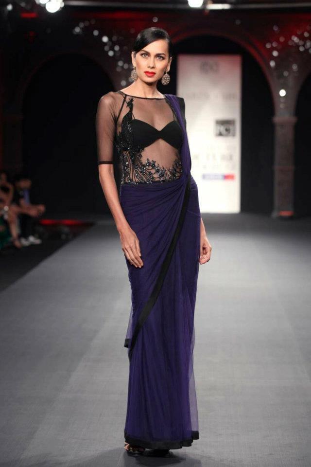 Scarlet Bindi - South Asian Fashion: Delhi Couture Fashion Week 2012 - Day 1