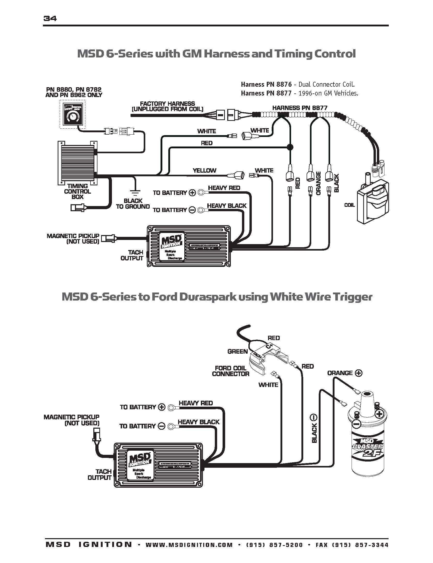 ford ignition box wiring wiring diagram standard gm hei distributor wiring diagram lovely chevy ford ignition [ 1675 x 2175 Pixel ]