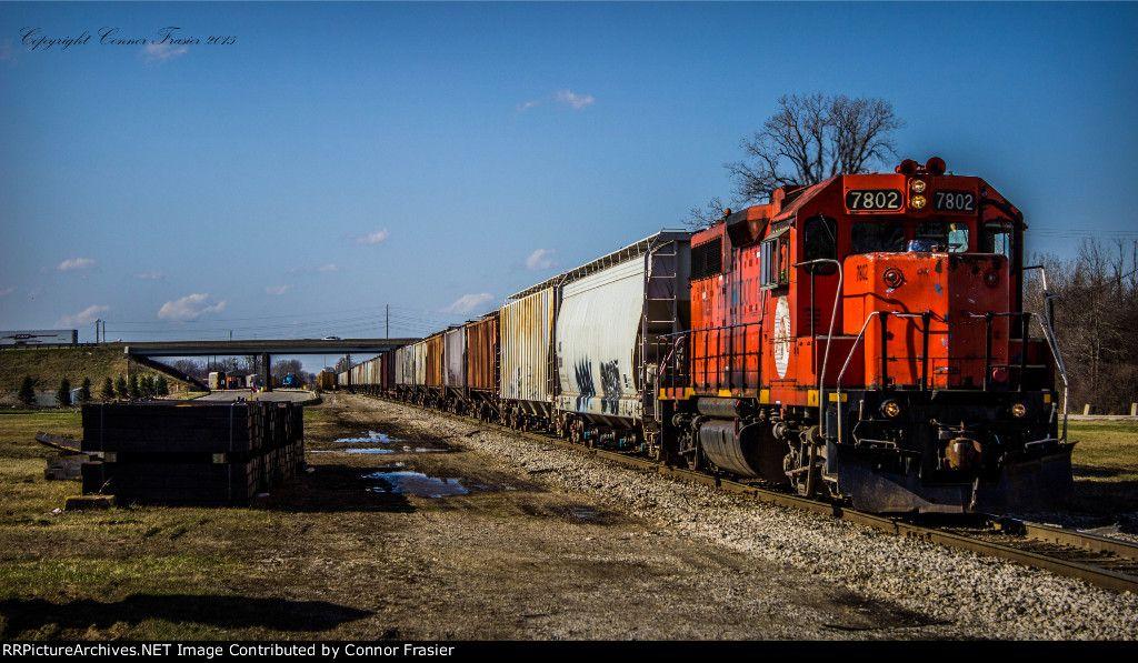 Ann Arbor Railroad Description Local Photo Date 4/10