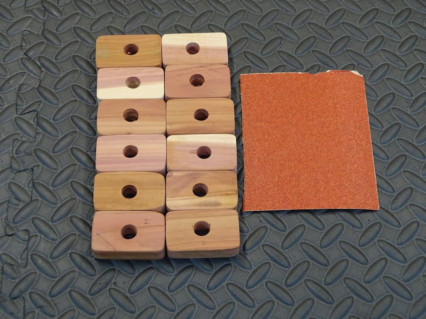 Eastern Red Cedar Closet Blocks (12) in 2020 (With images