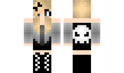 Minecraft Skin EmoGirl Find It With Our New Android Minecraft Skins - Skin para minecraft pe de emo
