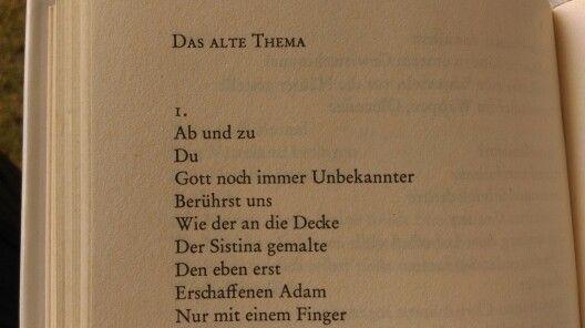 Das Alte Thema Marie Luise Kaschnitz