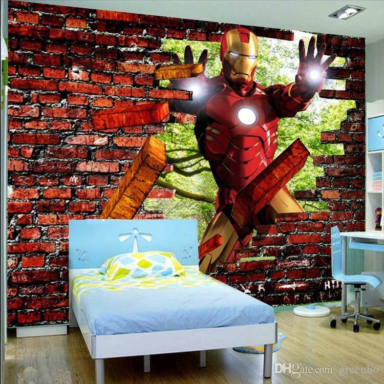 Best Iron Man Brick Photo Wallpaper Avengers Wallpaper Custom 640 x 480