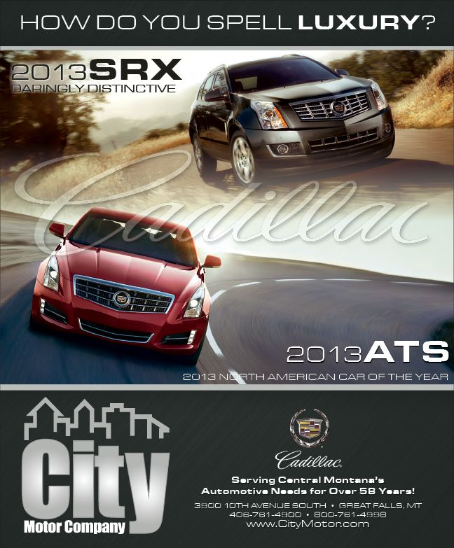 How Do You Spell Luxury Cadillac And City Motors Are Where They
