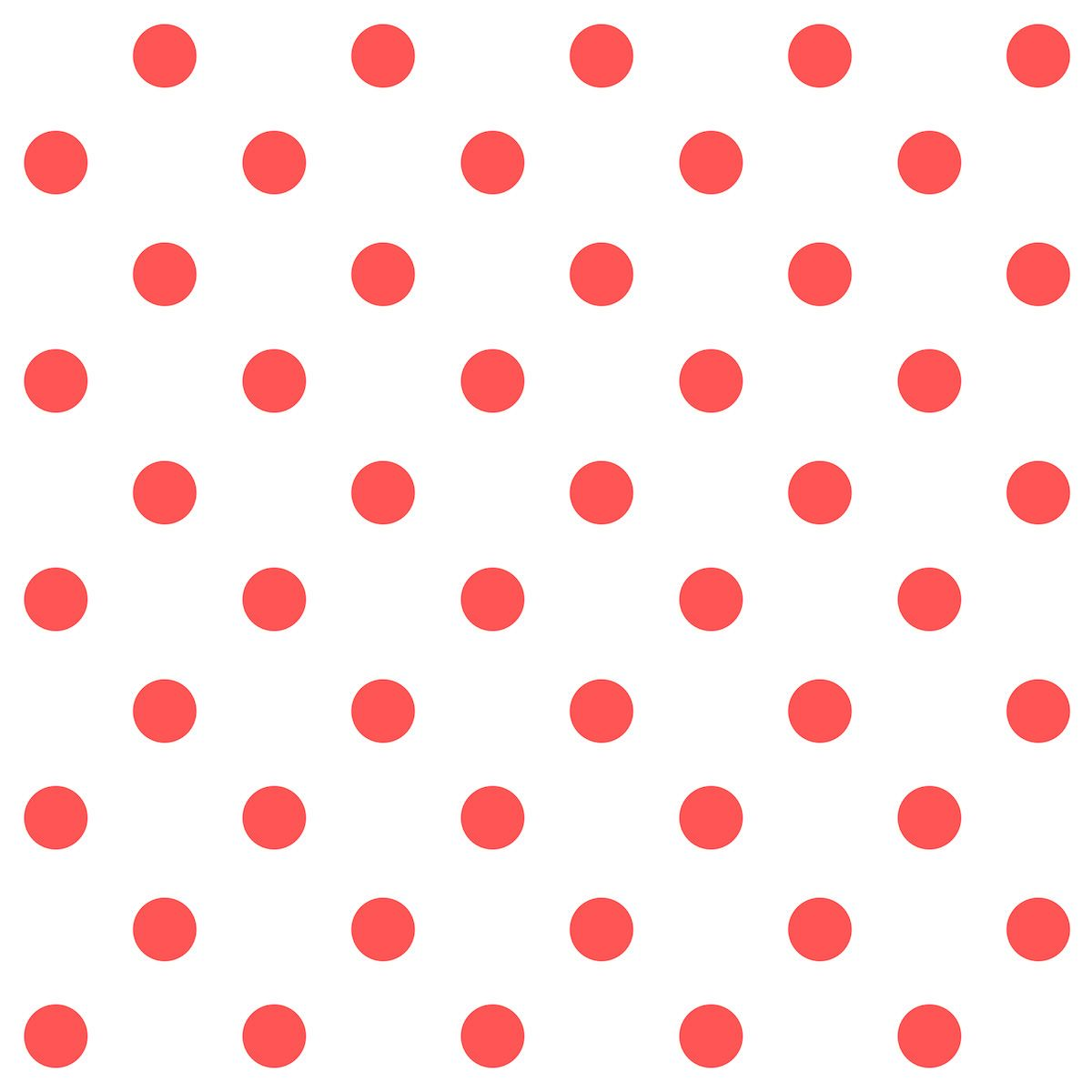 Free Digital Polka Dot Scrapbooking Paper Red And White