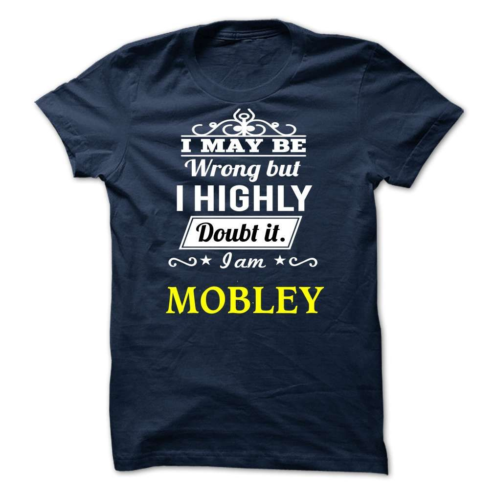 MOBLEY - I may be Team