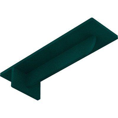 "Ekena Millwork Heaton Hidden Support 2""H x 3""W x 10""D Steel Bracket"