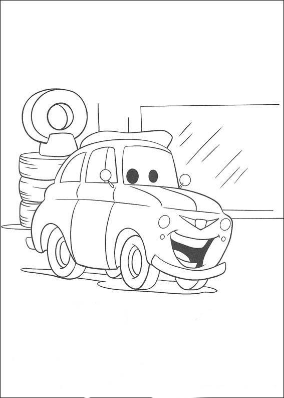 Cars Ausmalbilder 45 | Little girl stamps | Pinterest | Cars ...