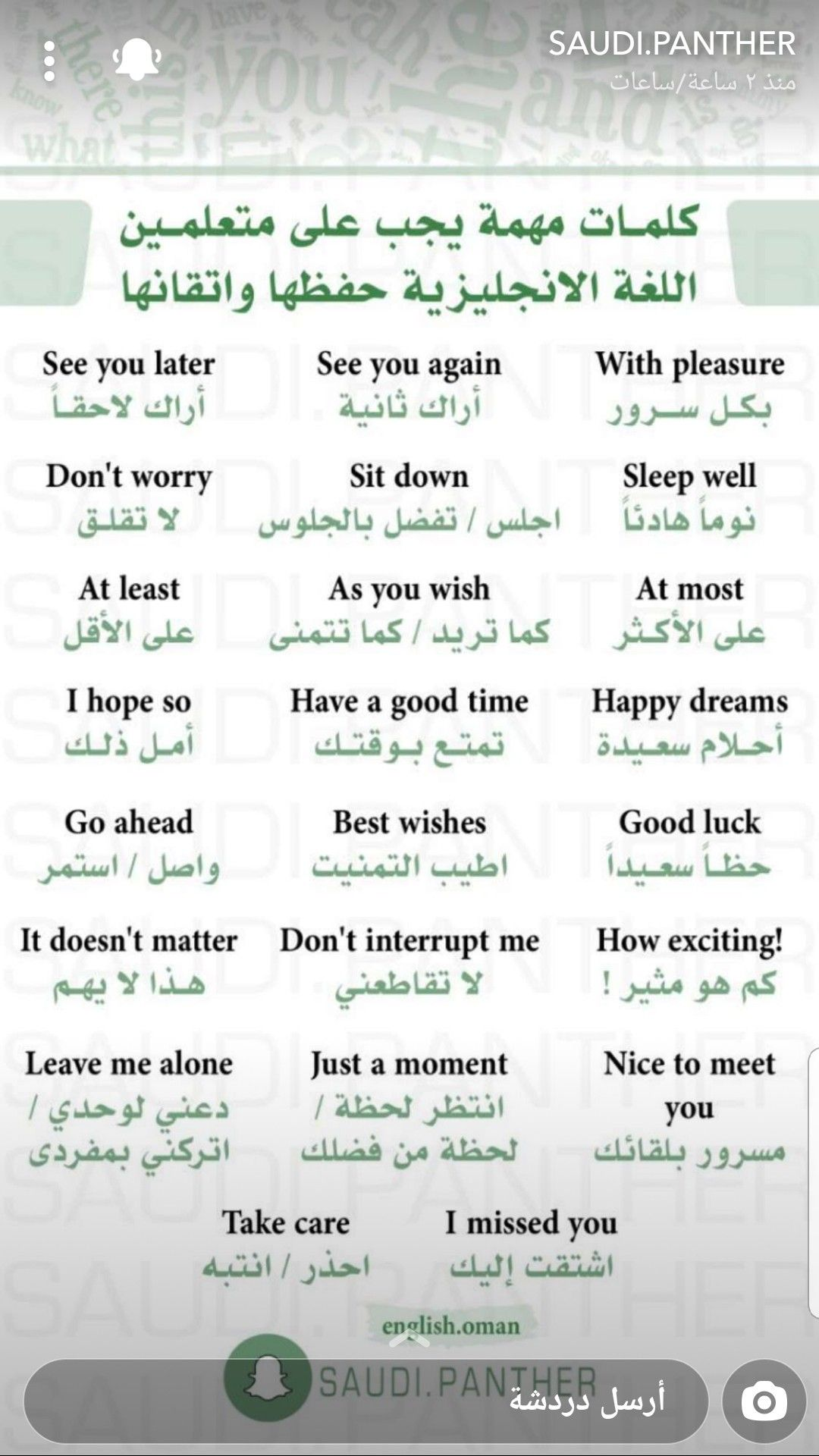 Pin By Oumaima Maima On Learn English In 2020 English Learning Spoken English Language Learning Grammar Learn English Vocabulary