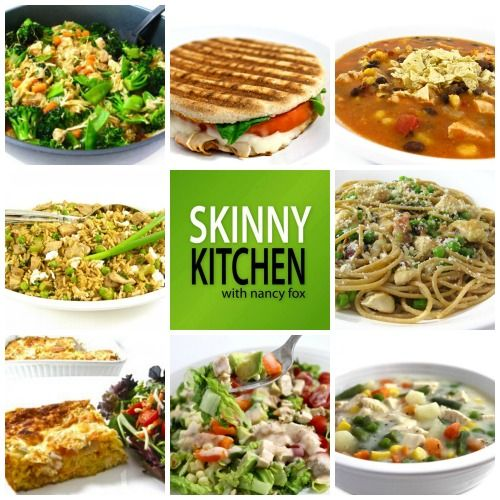 Super Easy, Skinny Recipes to Enjoy All Weekend Long. Check out some of my favorite, simple recipes. And if you have some chicken or turkey leftovers, happily most of these can be made with them. http://www.skinnykitchen.com/recipes/super-easy-skinny-recipes-to-enjoy-all-weekend-long/