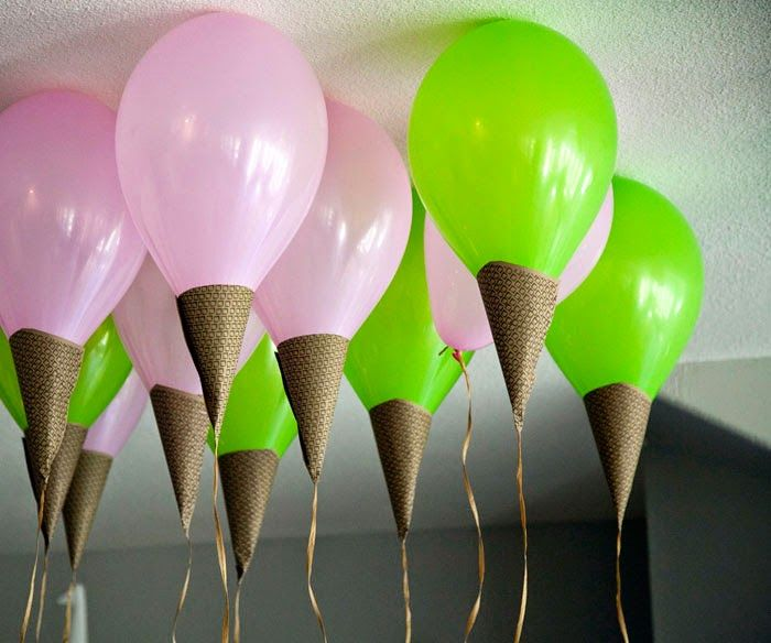 de 30 ideas de decoracin con globos para cumpleaos