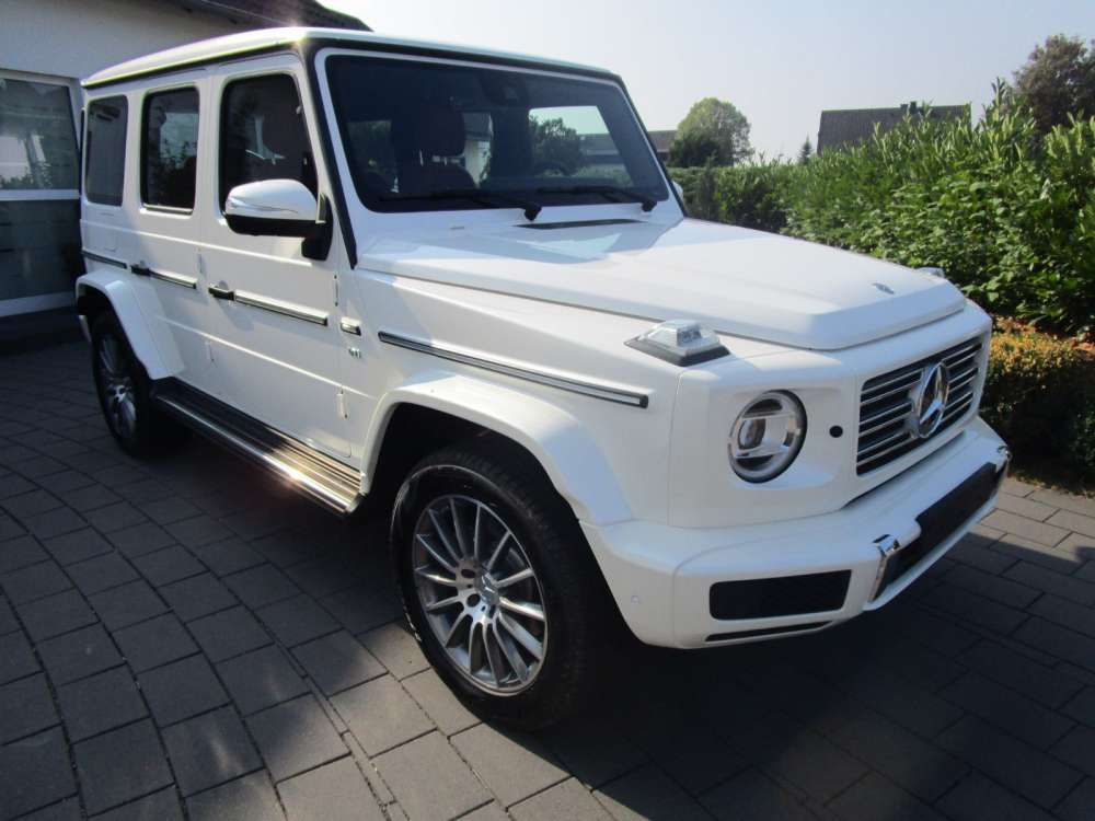 2018 Mercedes Benz G 500 Amg Suv Off Road Model 2019 New Vehicle White Red Full Oprional Tags 2018 Mercedesbenz G500 New Mercedes Benz Mercedes Benz G