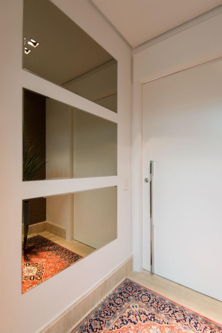6963e5900 Projeto de Hall de entrada – Casa Pro Hall Do Elevador, Hall Pequeno, Porta
