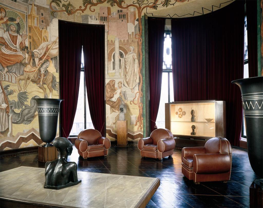 Emile jacques ruhlmann salon de paul raynaud palais de - Salon art deco paris ...