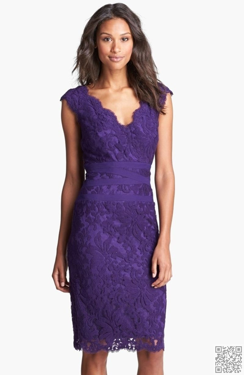 11. #Embroidered Lace Mother of the #Bride Dress... - 15 Sexy Mother ...