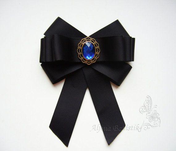 brosche krawatte brosche halskrause jabot dekoration. Black Bedroom Furniture Sets. Home Design Ideas