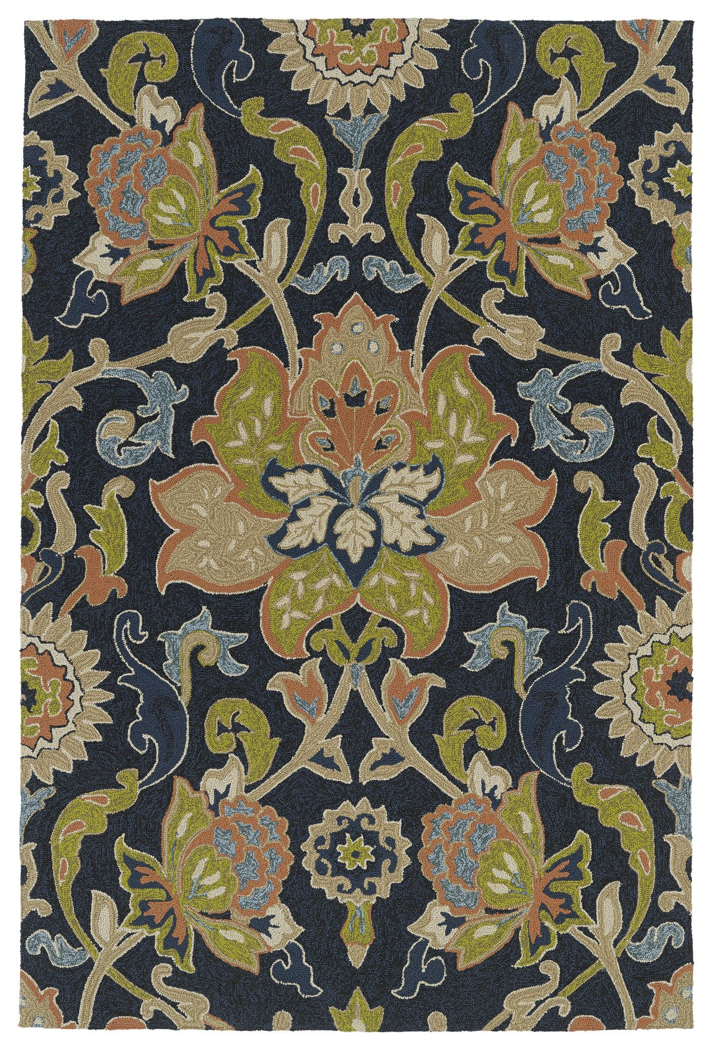 Home And Porch 2042 Navy Rug Navy Rug Affordable Area Rugs Kaleen