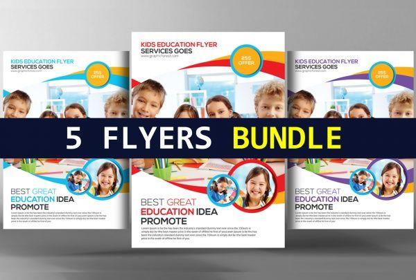 KidS Education Promotion Flyer  Education Leaflet