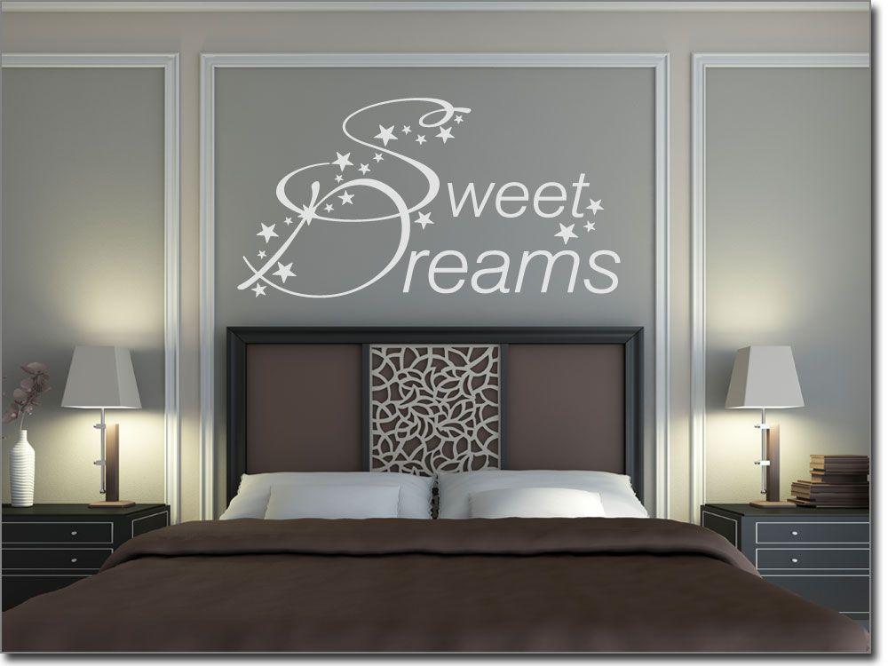 Wandtattoo Schlafzimmer Sweet Dreams - wandtattoo schlafzimmer sprüche
