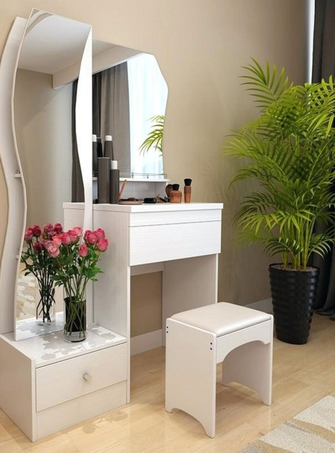 10 Gorgeous Dressing Table Designs For Home Interior Completeness