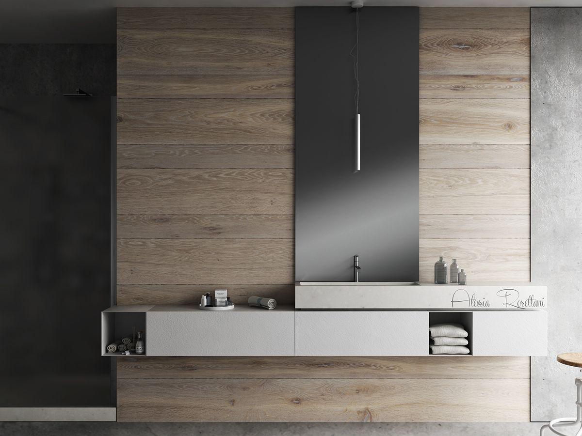 Bathroom modulnova on behance bathrooms pinterest for Diseno de banos lujosos