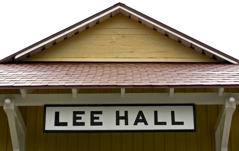 Lee Hall Train Depot's outside have been re-build and the construction has finished up. The outside views of the rebuilt Depot and grounds. The Depot's located on Elmhurst Street and Warwick Boulevard in the Lee Hall section of Newport News. This historic train station was constructed in 1881 as part of the C&O Railroad's efforts to establish its Atlantic terminus at Newport News. Then the Depot was closed and used for storage in the 1970's.