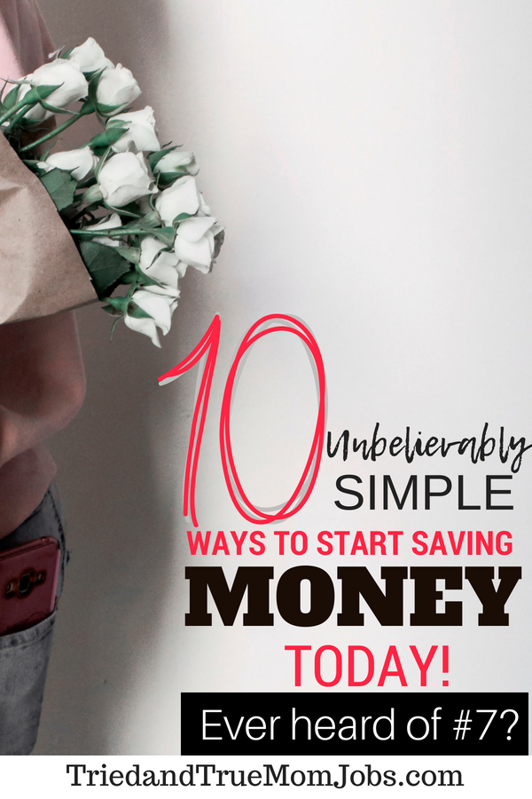 10 Unbelievably Simple Ways to Save Money on a Tight Budget