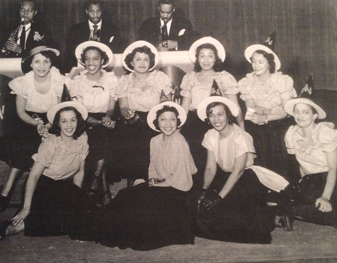 best images about organizations zeta phi beta the brooklyn chapter of the girl friends inc circa 1939