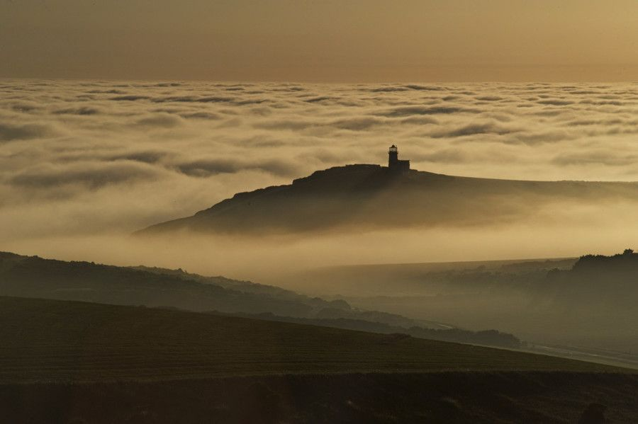 Belle Tout Light house in the Mist by Tom Benneyworth on 500px