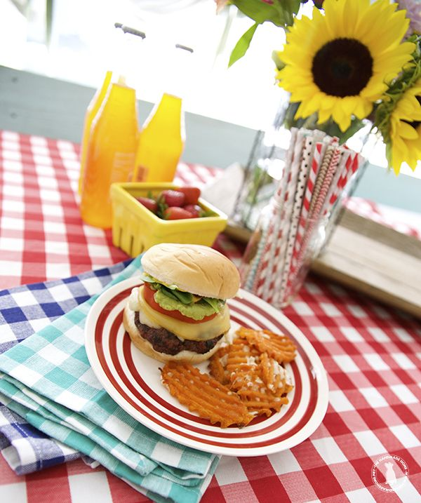 the very best grilled hamburgers {in the history of ever} - the handmade homethe handmade home
