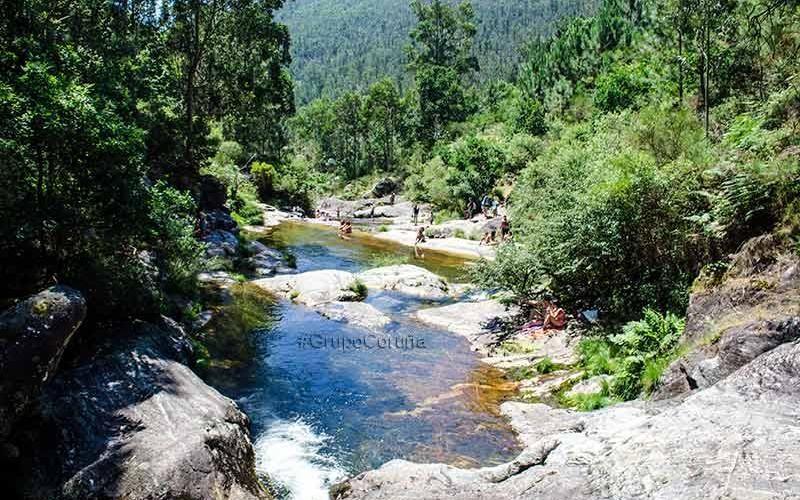 Piscinas Del Río Pedras Piscinas Naturales Piscinas Rutas De Senderismo