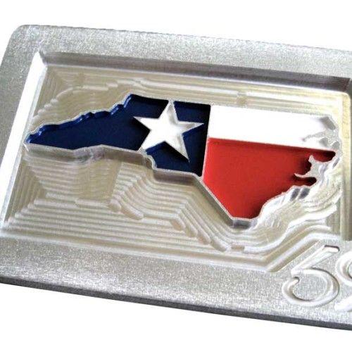 Texas / Carolina Custom Belt Buckle. Men's Belts, Golf Belt