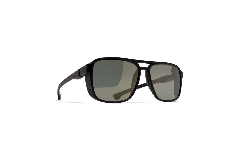 MYKITA Mylon Sun Kappa Md1 Pitch Black Lightgold #mykita #mylon #signaturestyle #luxuryeyewear
