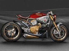 Ducati 1199 Panigale Café Racer Concept by AD Koncept