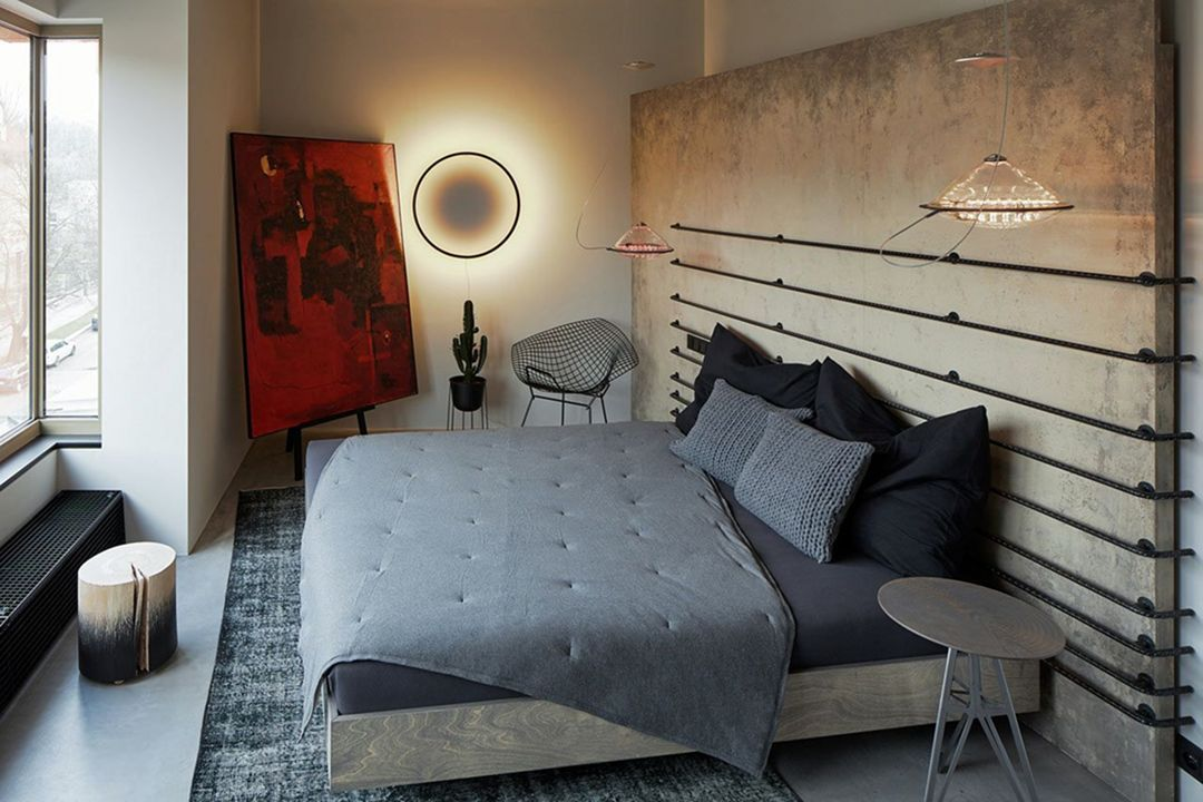 10 Awesome Industrial Small Bedroom Design And Decoration Ideas