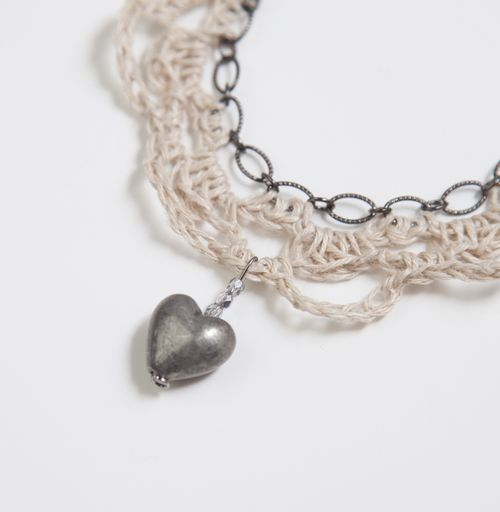 Uncinetto e collana Chain-134